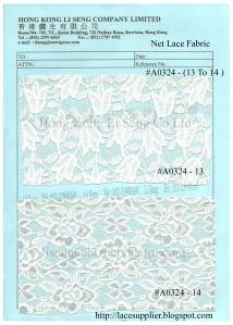 Net Lace Fabric Supplier - Hong Kong Li Seng Co Ltd