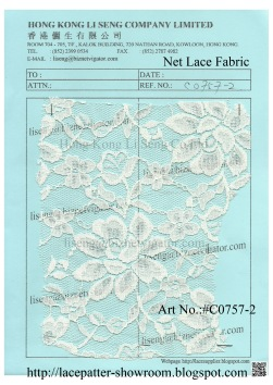 #C0757-2 Net Lace Fabric