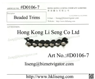 please log on our WebPages http://www.hkliseng.com Lace and Trims BlogCatalog http://lacetrimswholesale.blogspot.com/
