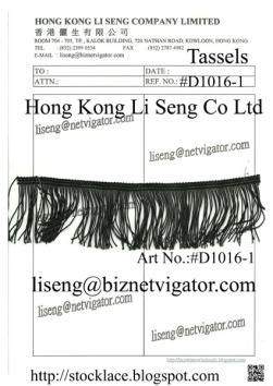 Black Tassels D1016-1(50K)