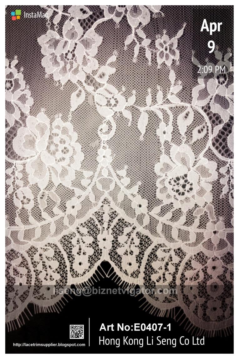 Eyelash Mesh Lace Fabric Manufacturer and Supplier - Hong Kong Li Seng Co Ltd