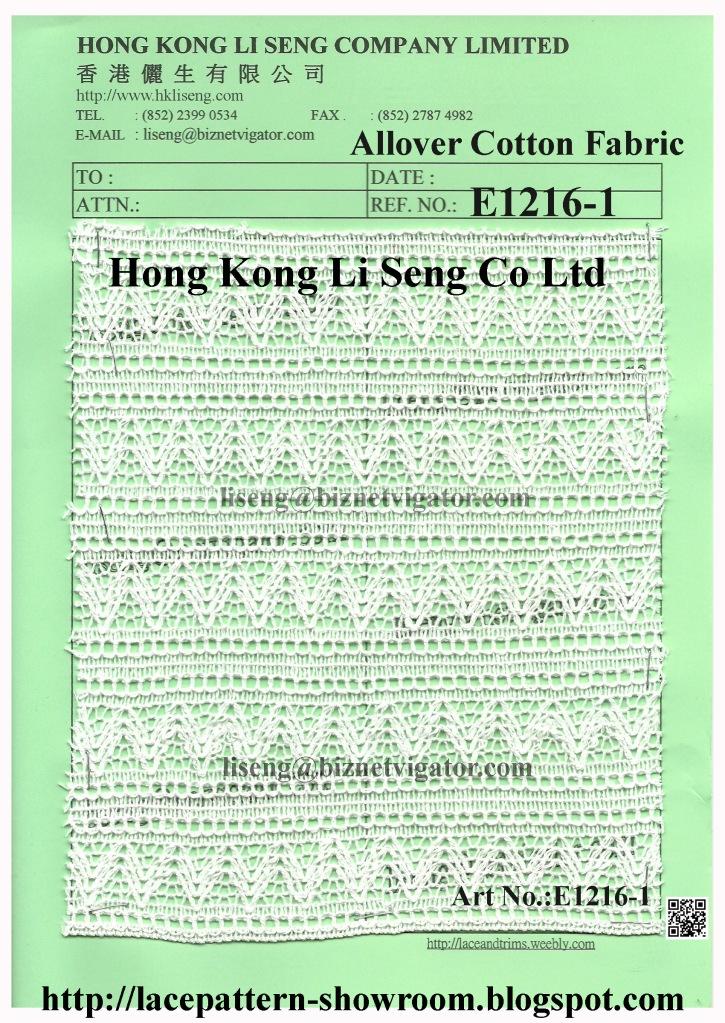 All Over Cotton Fabric E1216-1