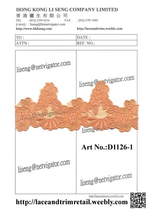 Art No.: D1126-1 Orange